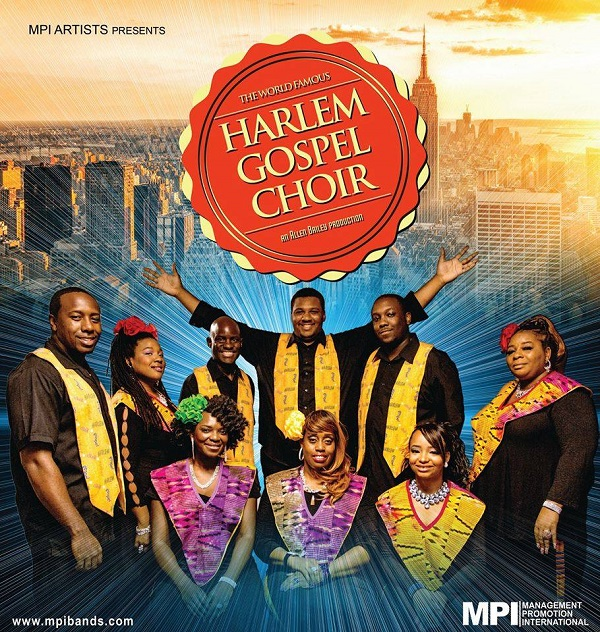 Harlem Gospel Choir ~ Carnbeg Hotel & Spa Wednesday 24th October