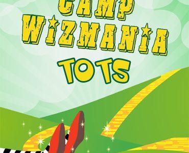 Camp Wizmania: Tots ~ An Táin Arts Centre Dundalk 8th - 19th July