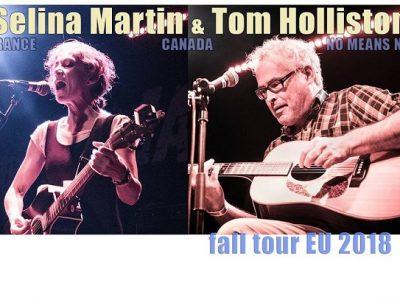 Tom Holliston & Selina Martin ~ The Spirit Store Dundalk Thursday 6th December