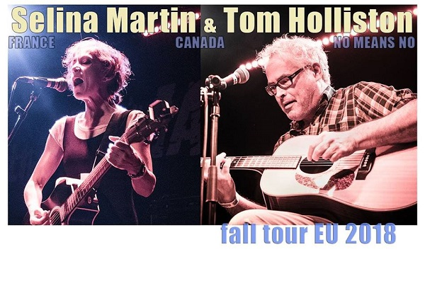 Tom Holliston & Selina Martin ~ The Spirit Store Dundalk Thursday 6th December