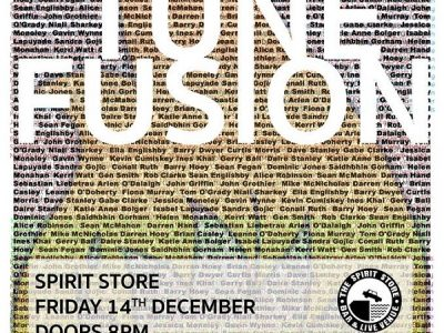 M'Anam Community Presents Tune Fusion ~ The Spirit Store Fri 14th Dec