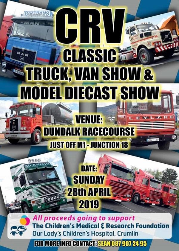 CRV Classic Truck, Van & Model Diecast Show ~ Dundalk Stadium