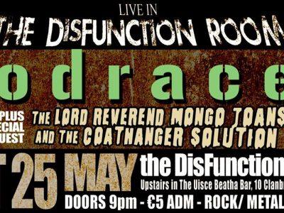 Podracer LIVE ~ DisFunction Room Uisce Beatha Bar Dundalk