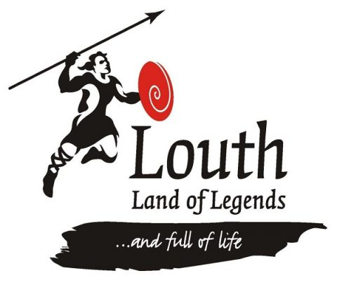 Louth Land of Legends Logo 2017 Louth County Council