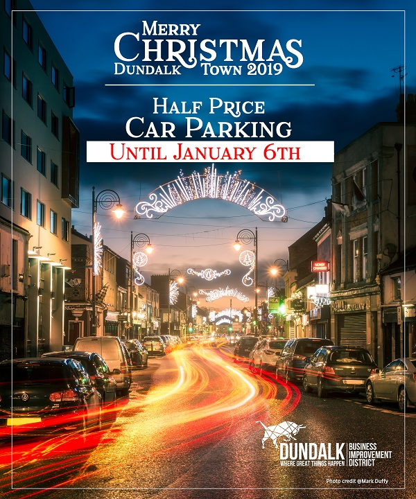 Dundalk Christmas Parking 2019