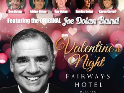 Music | Remembering Joe Show ~ Friday 14 February Fairways Hotel Dundalk