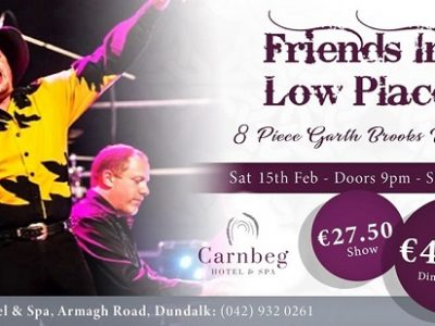 Tribute Band | Friends in Low Places - 8 Piece Garth Brooks Tribute ~ Carnbeg Hotel & Spa