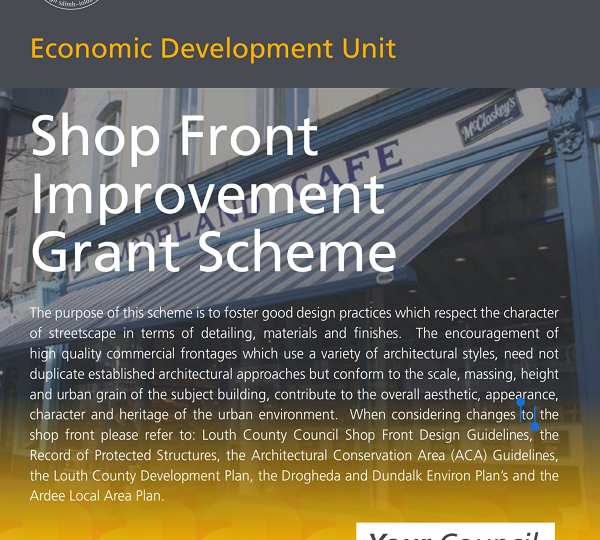 Grants Available to Rejuvenate Town Centre Shop Fronts